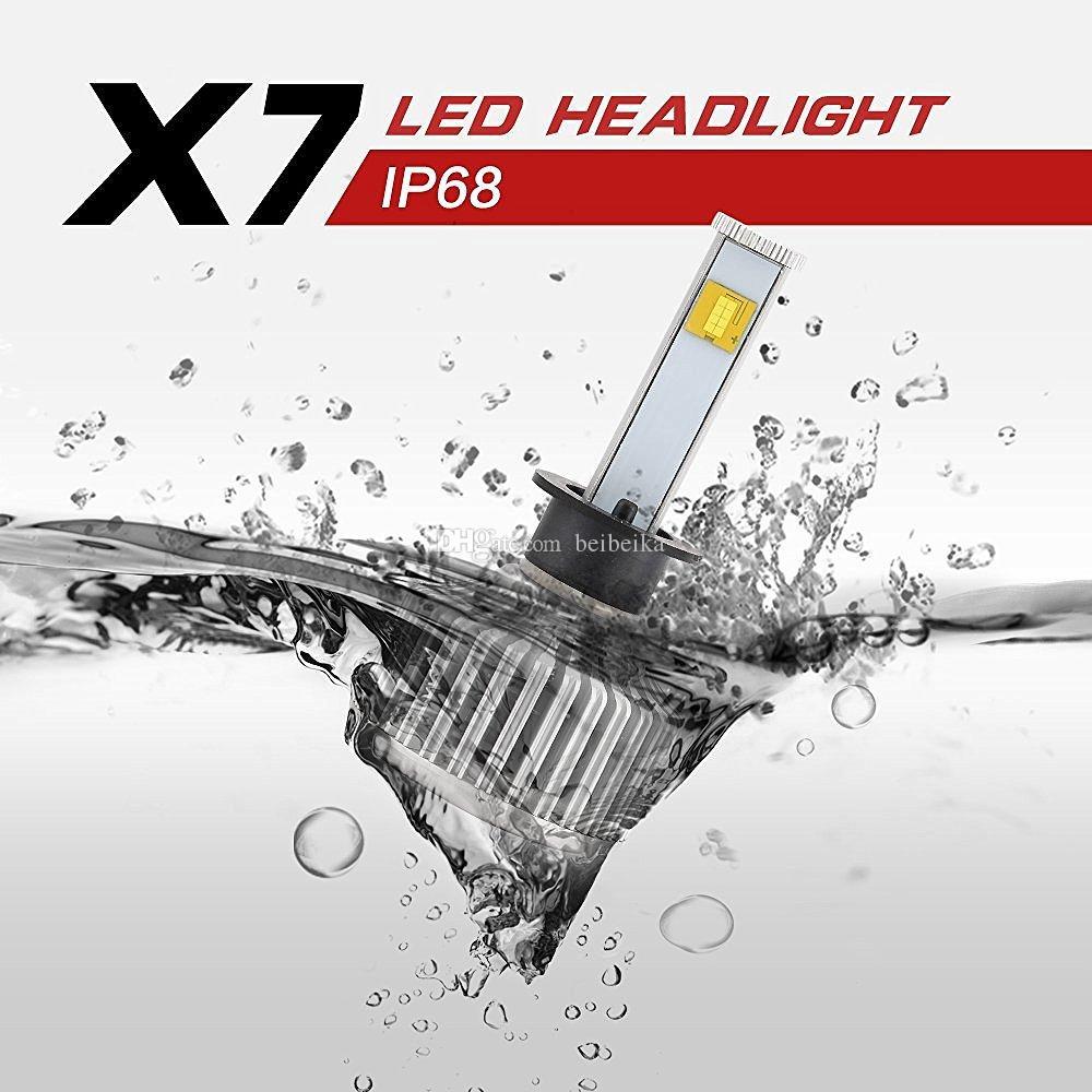 2016 новый светодиодный комплект для преобразования фар - 80 Вт 7200Lm 6 К Холодный белый Cree лампы все-в-одном ясно дуги Луч комплект