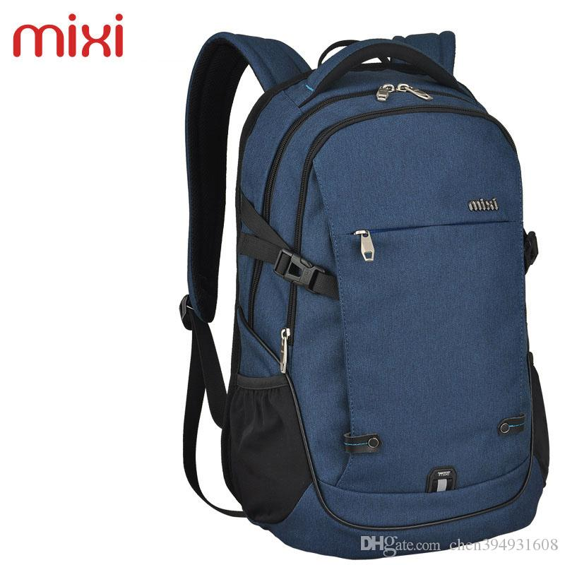 6469cf69ba66 2019 Mixi 2016 Brand New Laptop Backpack Water Resistant Outdoor Bags Multi  Layer Travel Backpacks Men Hiking Camping Bag From Chen394931608