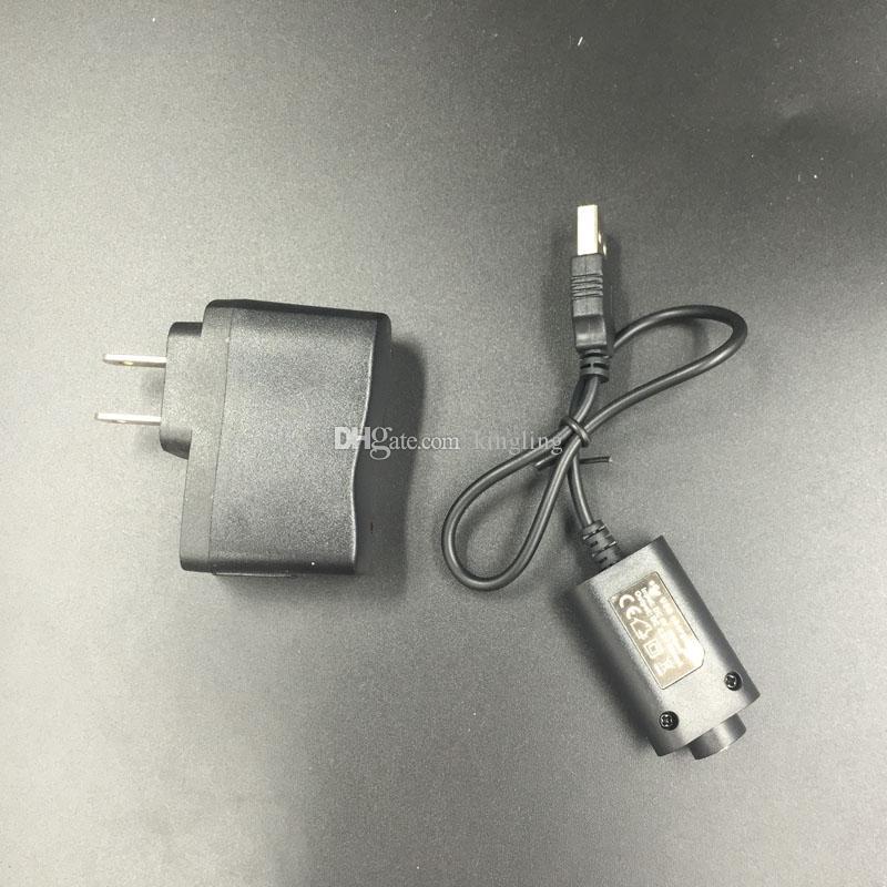 Carregador de bateria de e-cigarro Carregador USB 510 EGO Tópico para EGO T ego-C Twist VV Bateria USB Carregador de bateria para ego