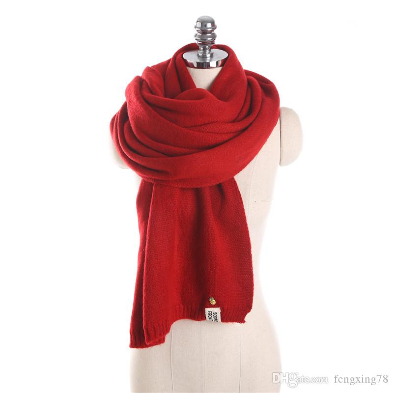 wholesale Hot sale 2017 New Women's Lady's Winter Blanket Scarf High-grade Long thick Cashmere scarf Pashmina for choose