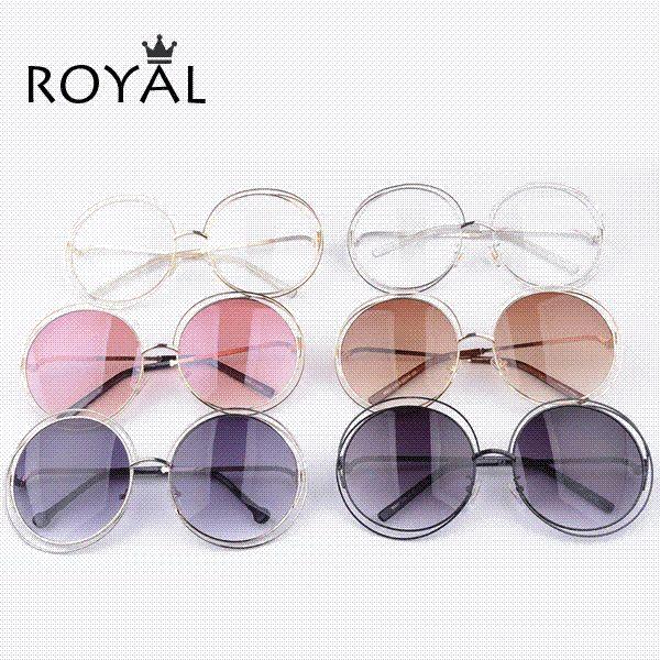 91edbd53fc Pretty Quality Women Brand Designer Sunglasses Oversize Unique Round ...