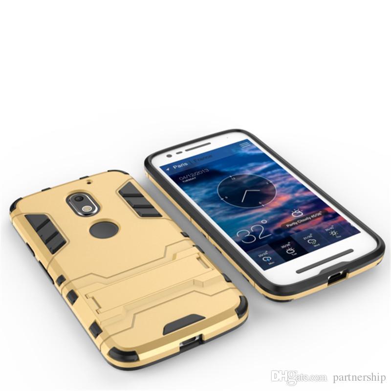 For Motorola Moto E3 Case Tough Impact Phone Case Heavy Duty Armor Anti-knock Silicon Rubber Hard Cover For Moto E 3rd Gen