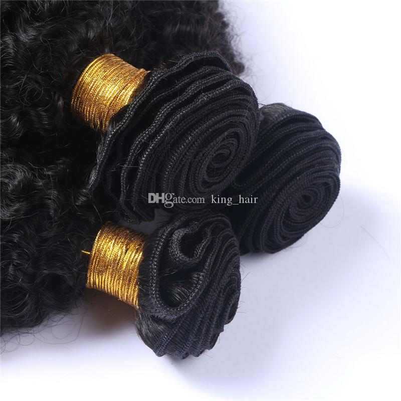 New Arrival Mongolian 9A Human Hair Extensions Afro Kinky Curly Hair Bundles Kinky Curly Hair Weaves For Clack Woman