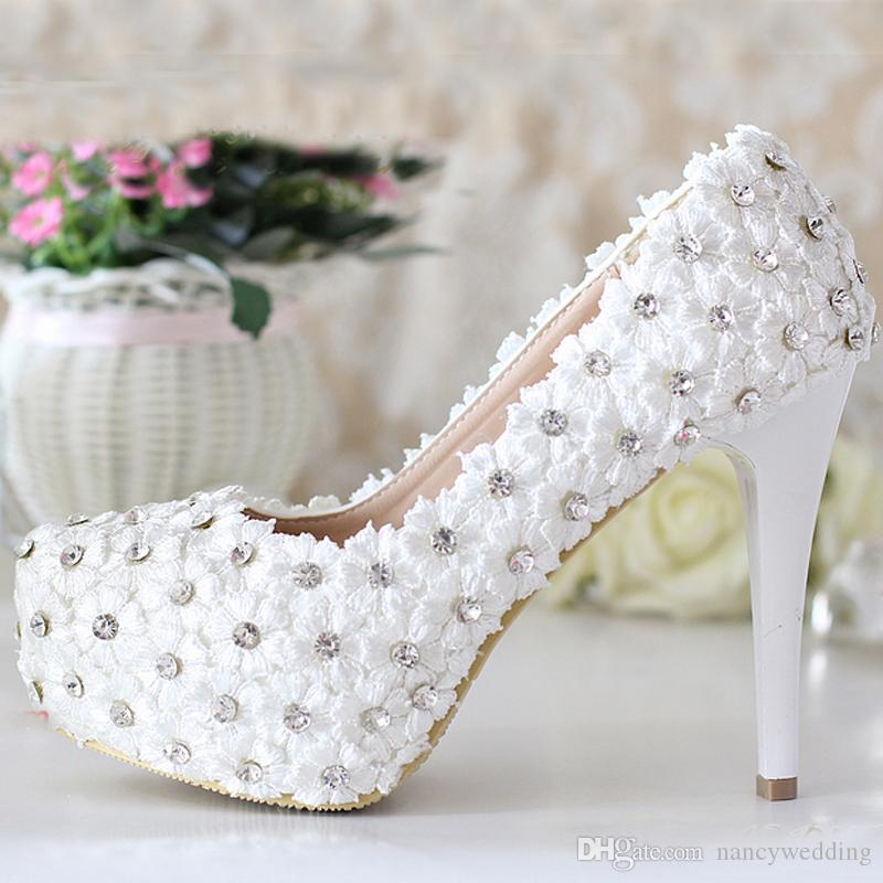 67e2f594ff9f Cheap Lady Wedding Shoes White Kitten Heel Discount Gold Wedding Shoes for  Bridesmaids
