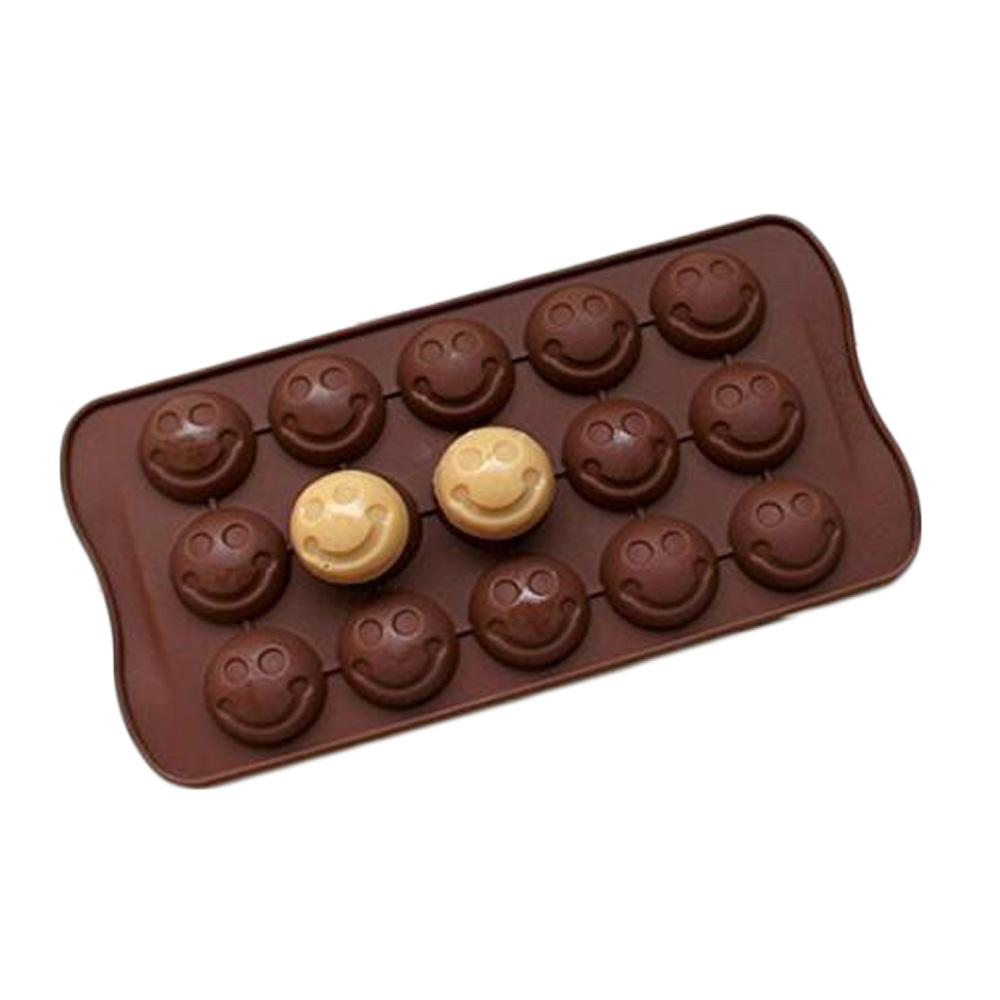 2017 Emoji Emotion Cake Mold Smiley Chocolate Candy Baking Mould ...