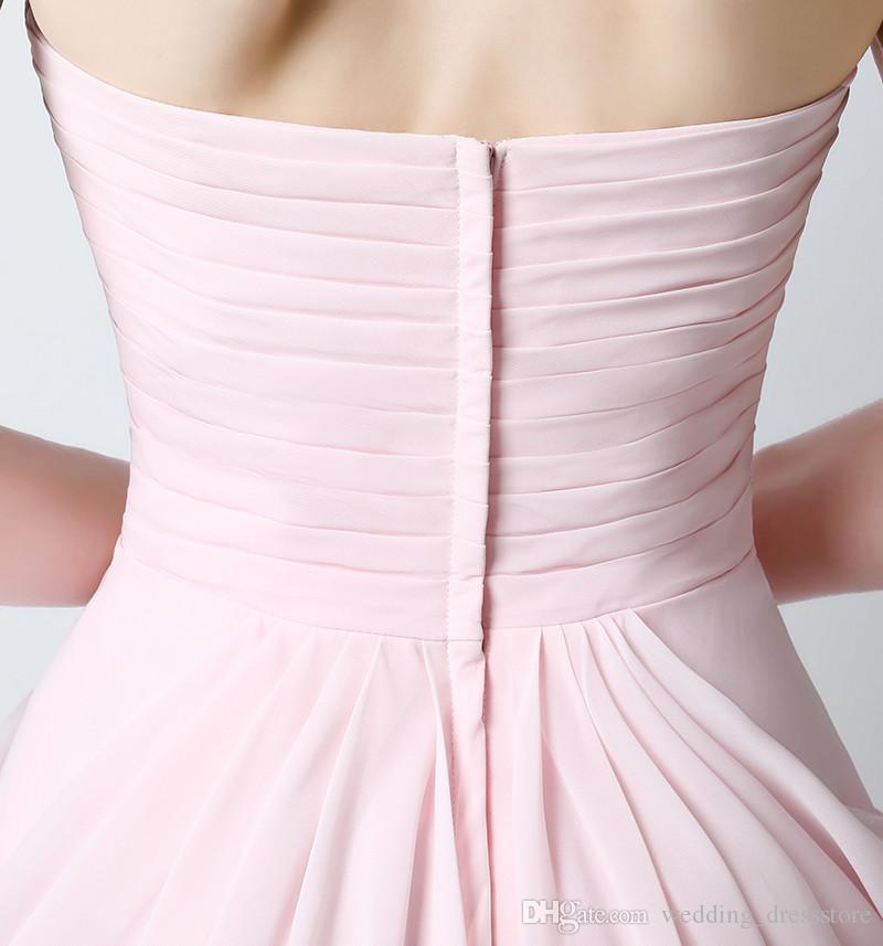 Envío gratis vestidos de dama de honor mini por encima de la rodilla con vestidos de fiesta de la boda de la flor de la venta caliente
