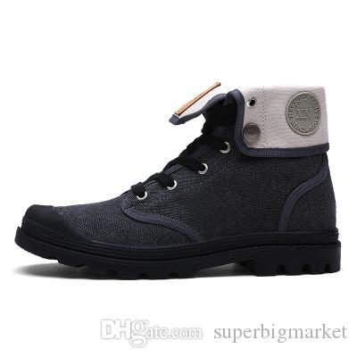 2016 Nouvelle Automne Hommes Femmes Chaussures Mode Plate-Forme En Plein Air Chaussures Marque Lace Up Casual Chaussures De Toile Pour Femmes Hommes 4 couleur