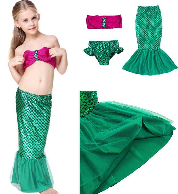 2018 2016 Baby Girls Mermaid Swimwear Children Mermaid Bikini Set Swimsuit Bathing Suit 2 9y Kids Mermaid Swimwear Baby Swimming Costume D614 From Billychan ...  sc 1 st  DHgate.com & 2018 2016 Baby Girls Mermaid Swimwear Children Mermaid Bikini Set ...