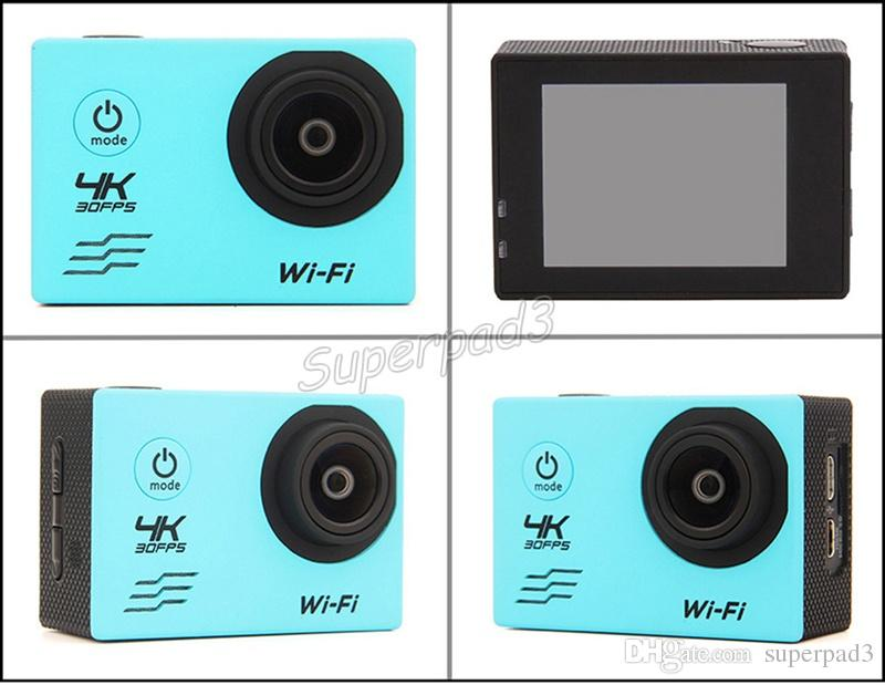"""4K X3A Wifi Action Camera 16MP 2.0"""" Sports HD DV Mini 170° View 30M Waterproof Diving Outdoor Sport Action Camera Car DVR"""