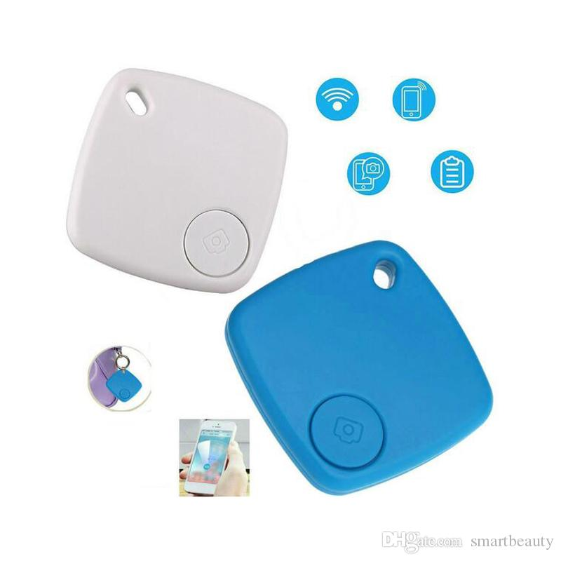 APP Controlled Small Lovely Bluetooth Anti-lost Alarm Key Finder Remote  Camera Maps Smart Finder Anti Lost Alarm Tracker