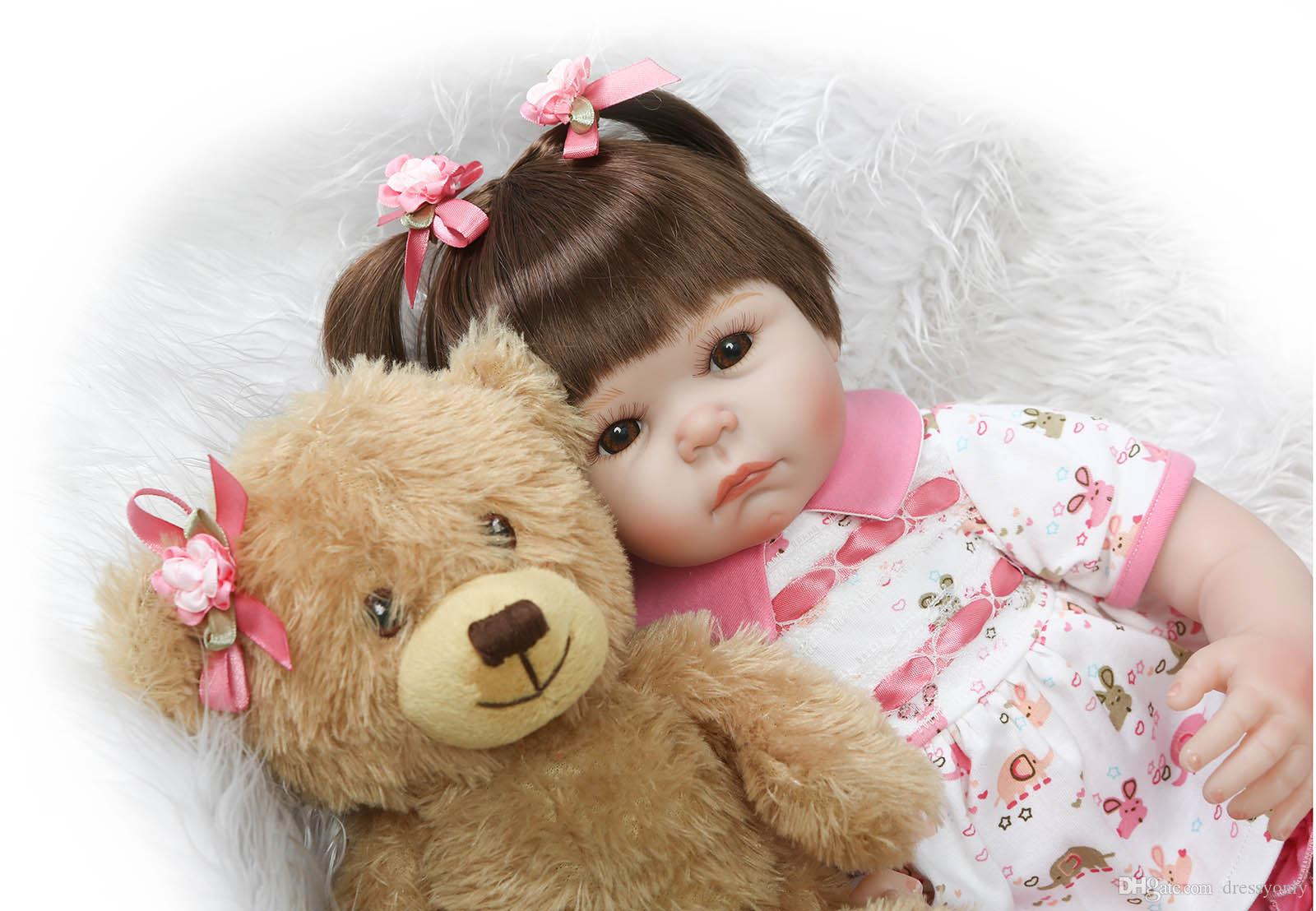 cute baby girls dolls handmade lifelike baby doll 20 inch 50 cm baby