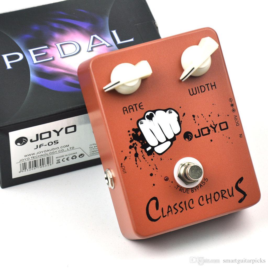Pedal de efecto de guitarra eléctrica con distorsión de coro clásico de JOYO JF-05