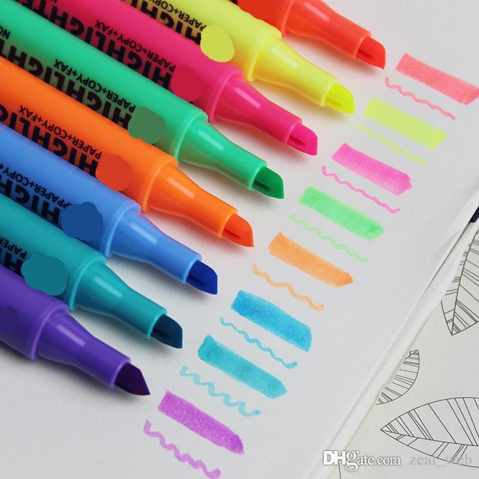 Pennarello i pennarello manga pennarelli artistici Pennello 5 pennarelli pennarello artistico 5 evidenziatori pennarelli 7