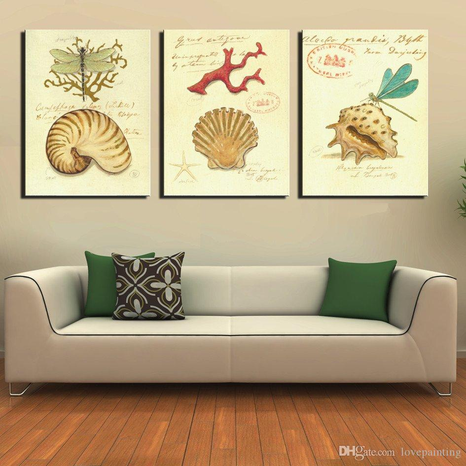 Unframed Canvas Prints Feather zebra tree-root carving Chrysanthemum Abstract potted flower shell dragonfly Sunflower