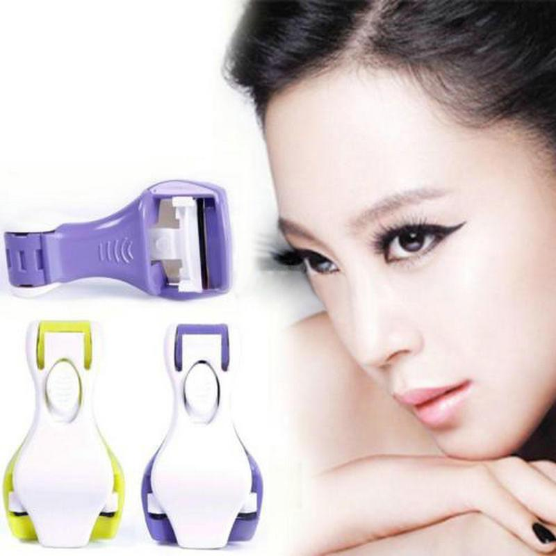 Women Mini Portable Manual Curling Eyelash Makeup Curler Travel #T701