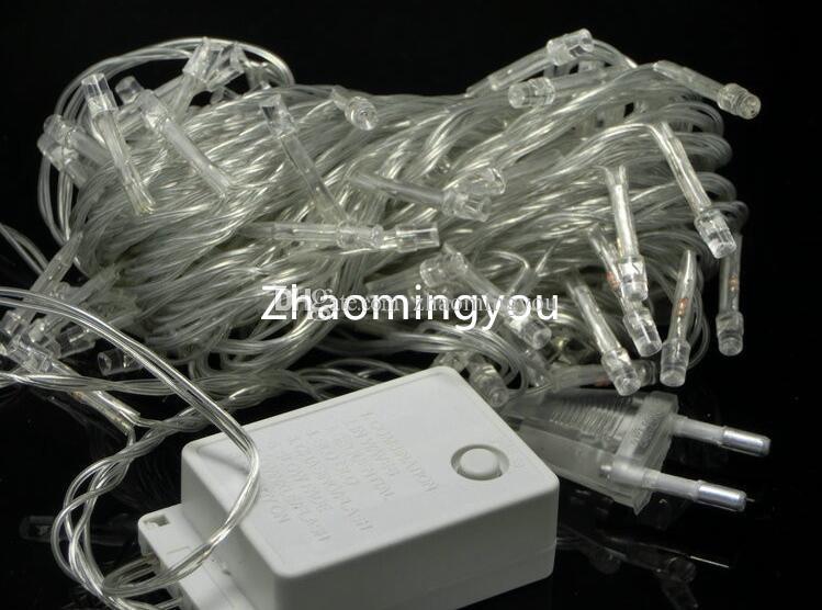 당신은 10m 20m 30m 50m 100m led 문자열 요정 빛 휴가 장식 AC220V 110V 방수 옥외 빛 컨트롤러