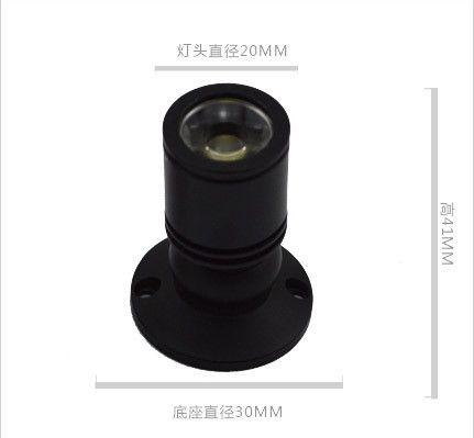 Einstellbarer Winkel Mini 1W 3W AC85-265v LED Sternlicht Led Kabinett Licht Led Downlight Deckenleuchte Aufputz Downlight