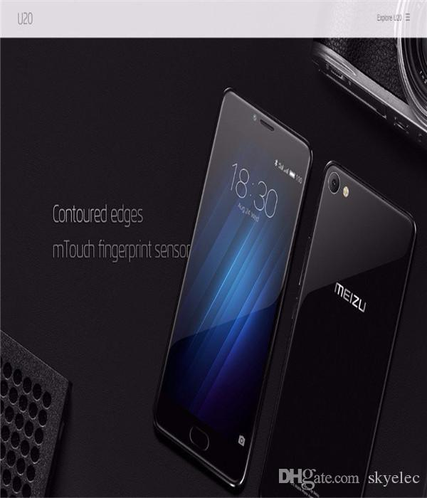 Meizu U20 Dual Sim 16gb Android Smartphone Mobile 4g Lte 3g Cdma Unlocked Black Eight Nuclear Fingerprint 5 Inch Silver Hot Screen Material