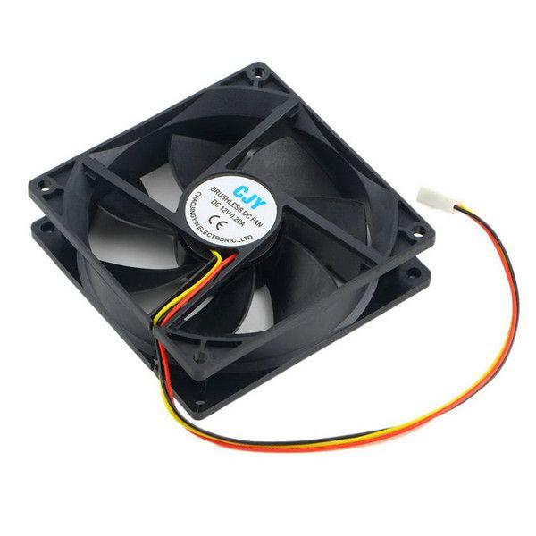 CHAOJINGYIN CJY 12V 3-Pin 9cm 90 x 25mm 90mm CPU Heat Sinks Cooler Fan DC Cooling Fan 65 CFM est
