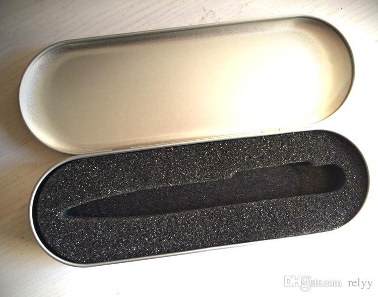 Big Metal Retângulo Caneta caixa De Embalagem De Metal Caneta De Metal caixa de presente Tamanho 178x60x20MM 7.01 x 2.37 x 0.79 polegada Só a caixa