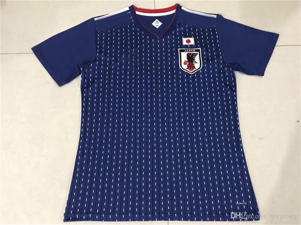 2019 New JAPAN 2018 World Cup Jersey KAGAWA HONDA Home BLUE Soccer Jerseys  OKAZAKI 2018 Camiseta JAPANESE Maillot De Futbol Football Shirt S XXXL From  ... 1e97d6b48
