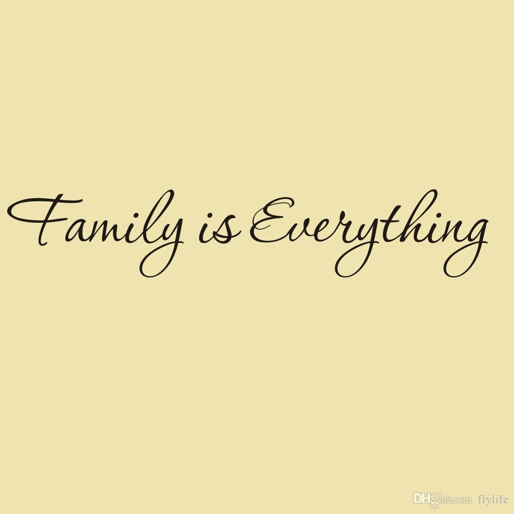 Family Is Everything Vinyl Wall Art Stickers Quotes Home Decor Home ...