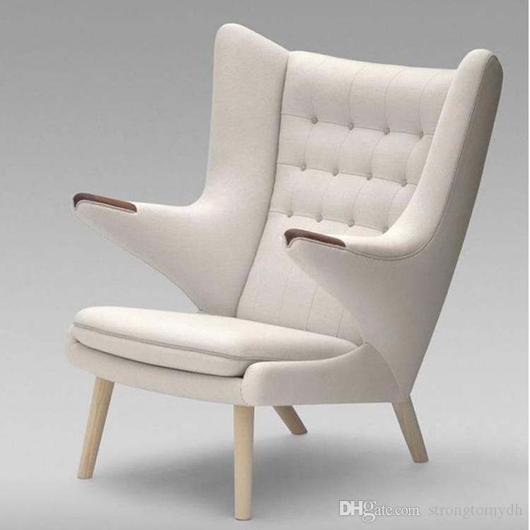 2017 Modern Classic Furniture,Teddy Bear Lounge Chair Indoor Factory  Outlet,Customize Linen Armchair And Ottoman High Quality Chaise Lounge Chair  From ...