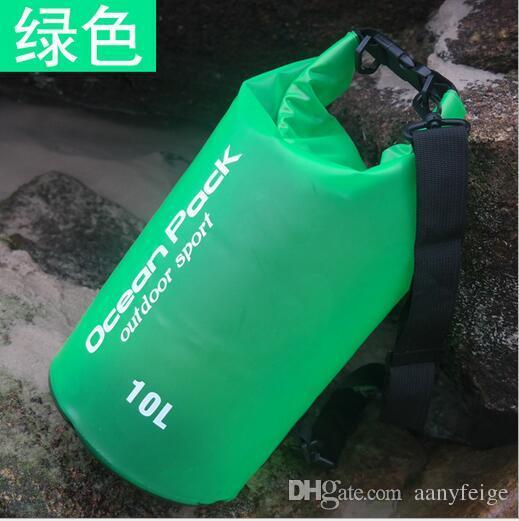5L/10L/15L/20L/30L Outdoor Waterproof Bag PVC Storage Dry Bag for Canoe Kayak Rafting Sports Camping Travel Kit Equipment