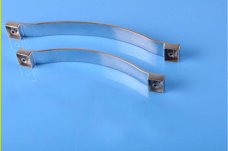 2 unids Moderno de resina azul Muebles Herramientas de hardware Gabinetes de cocina Puertas Puertas Puertas Drawer Armario Armario Cómoda Tiradores Accesorios de la puerta