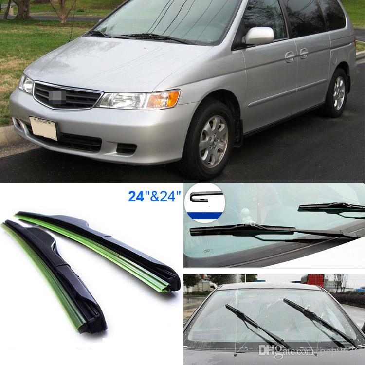 2018 24+24 Front Windscreen Windshield Wiper Blades Soft Rubber Windshield Wiper  Blade For Honda Odyssey 2000 2004 From Ocp9636, $18.98   Dhgate.Com