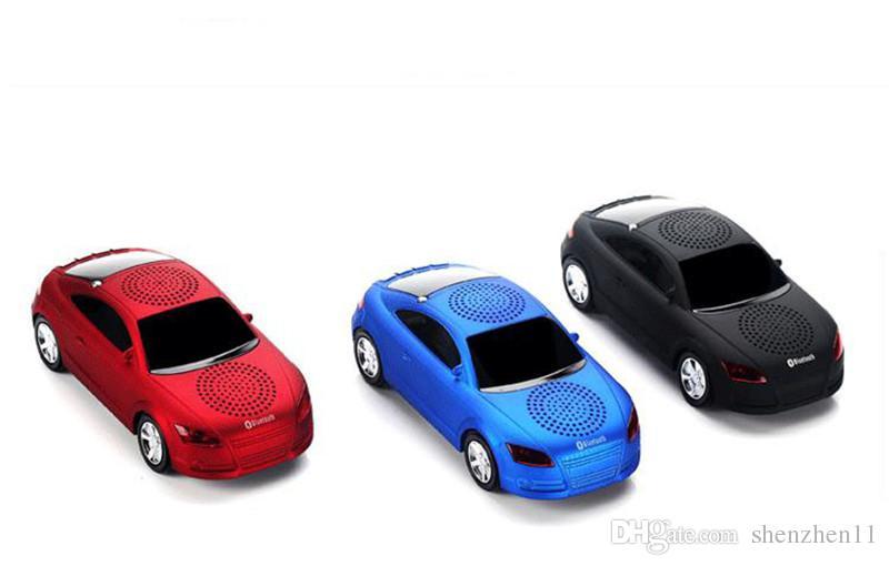 Kühle bluetooth lautsprecher top qualität auto form drahtlose bluetooth lautsprecher tragbare lautsprecher sound box für iphone computer mis131