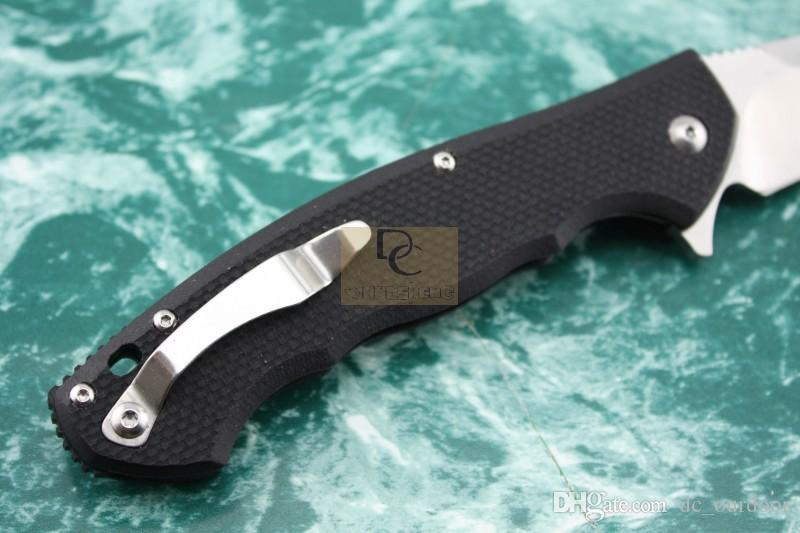 Zero Tolerance ZT0454 Tactical Flipper couteau pliant lame 9Cr18MoV G10 poignée roulement à billes camping en plein air couteaux outils EDC