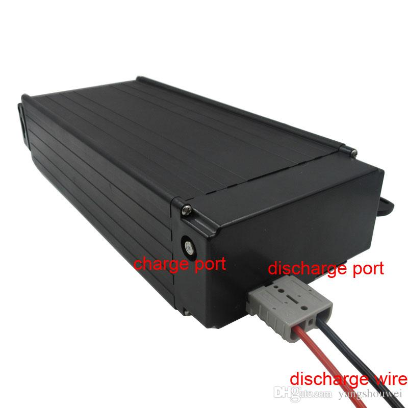 24V Scooter battery 24V 700W Rear rack Battery 24V 30AH lithium battery For electric bike with Tail light 30A BMS 29.4V 3A charger