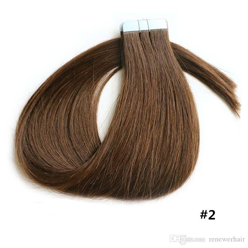 Cheap Tape In Human Hair Extensions 18 24 Human Hair Tape Skin Weft