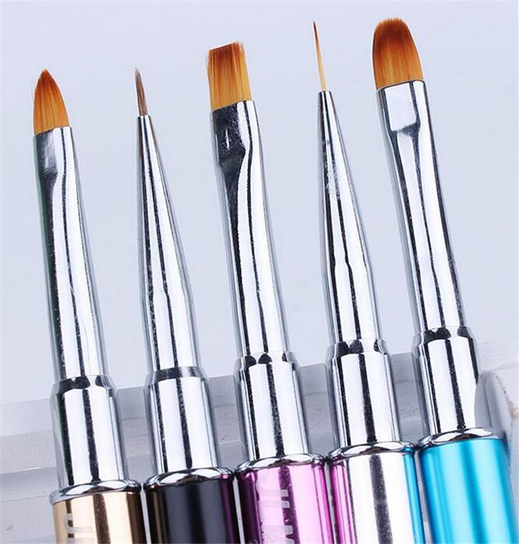 Crystal Nail Art Pen Nail Art Brush Acrylic Nail Pen Painting Brush ...