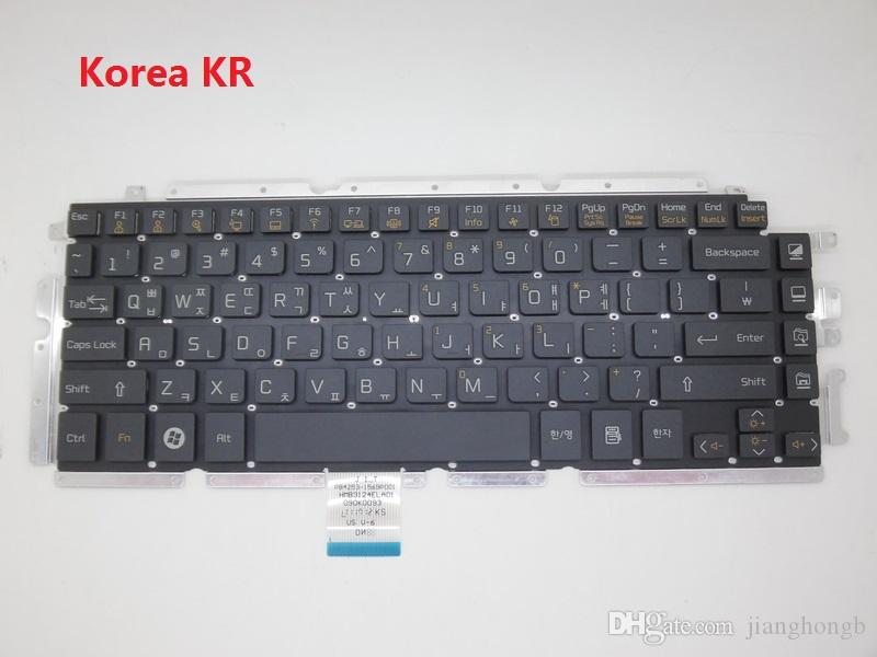 New Arrive And Orginal!! Black US-English Keyboard For LG Z330 Z330-G Z340 Z350 Z355 Z450 Z450-G Z455 Z460 US Layout Korea KR Hebrew HB