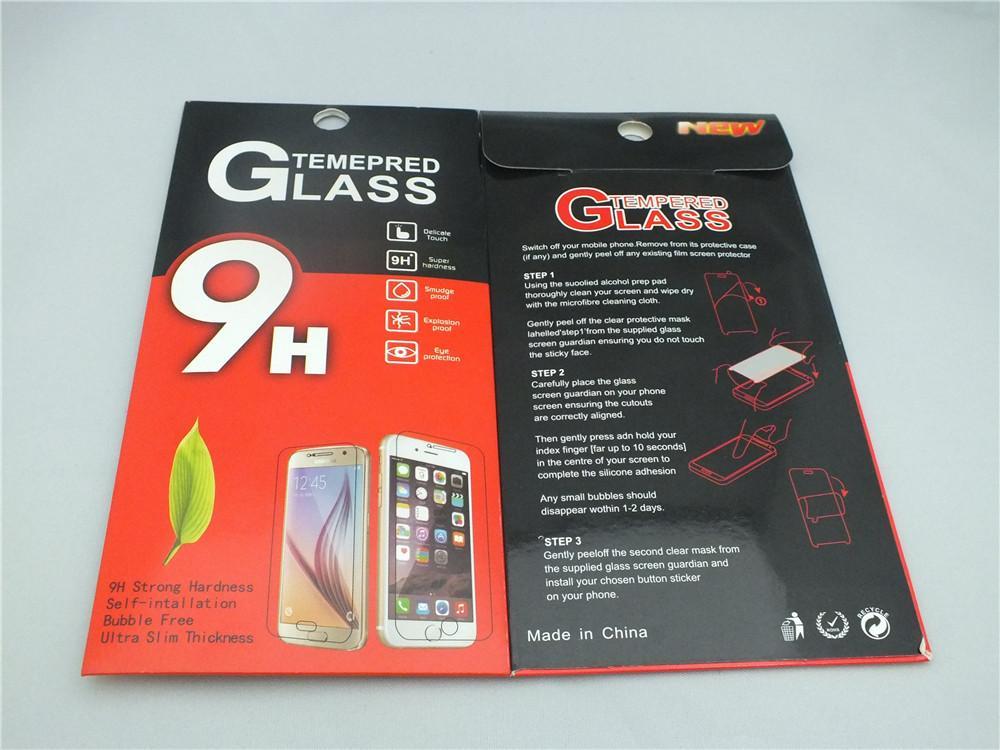 0.33 مم فيلم الزجاج المقسى لسوني Xperis XA1 Plus iPhone X Samsung Glaxy J7 Plus Huawei V9 Play Screen Protector pelicula de vidro
