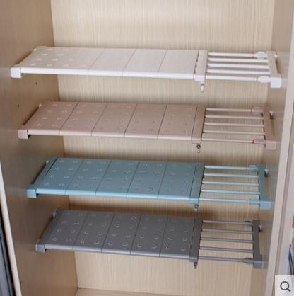 2017 Wardrobe Storage Layered Separator Free Nail Cabinet Shelf ...