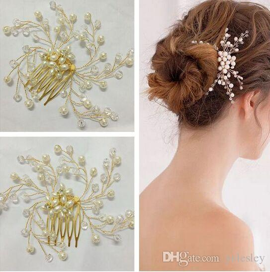 New Arrival Fashion Crystal Gorgeous Shiny Bridal Tiaras & Hair Wedding Accessories High Quality Cheap