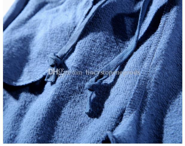 2019 новый мужской спортивная одежда Брюки Бегун спортивный костюм причинно-следственная ткань Терри Crewneck птица OVO Дрейк черный хип-хоп stusay мужчины акула mouthtrousers