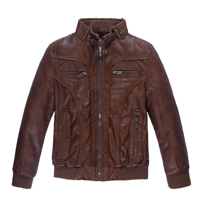 Autumn Winter Brand Kids Jackets Coats Boys Sheepskin Genuine ...