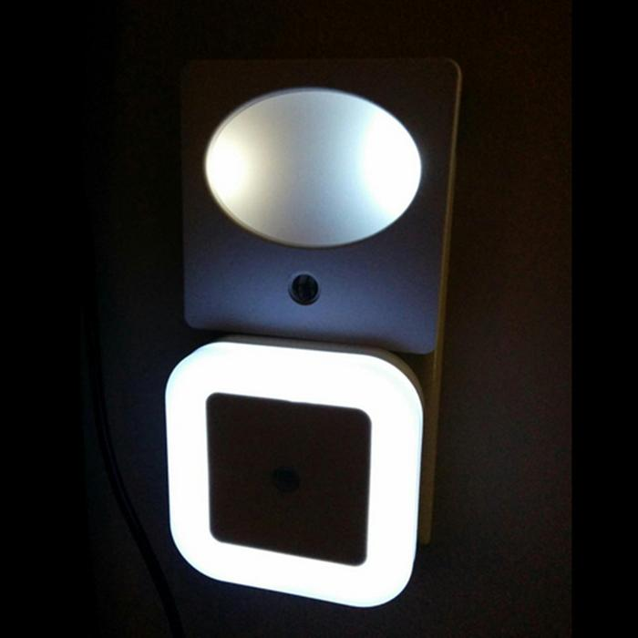 2018 smart control light sensor led night light plug in for Kids room night light