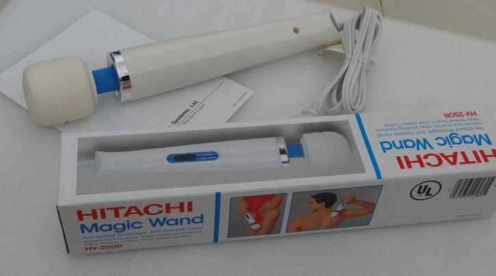 Hitachi Magic Wand Massager AV Vibrator Massager Personal Full Body Massager HV-250R 110-240V Electric Massagers US/EU/AU/UK Plug UL Approve