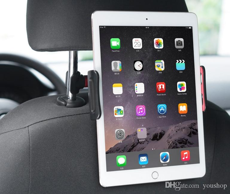"""Universal Car Headrest Tablet Mount Car Tablet Holder for 4"""" to 11"""" Tablets Cell Phones for ipad Air 2"""