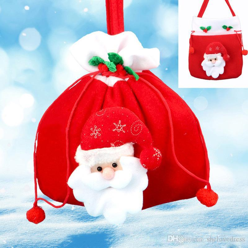 Christmas Gift Bags Bulk.Christmas Candy Sack Christmas Gift Bags Drawstring Favor Gift Package Bulk Set Of Multi Style Neon Colored Goodie Bags Sacks