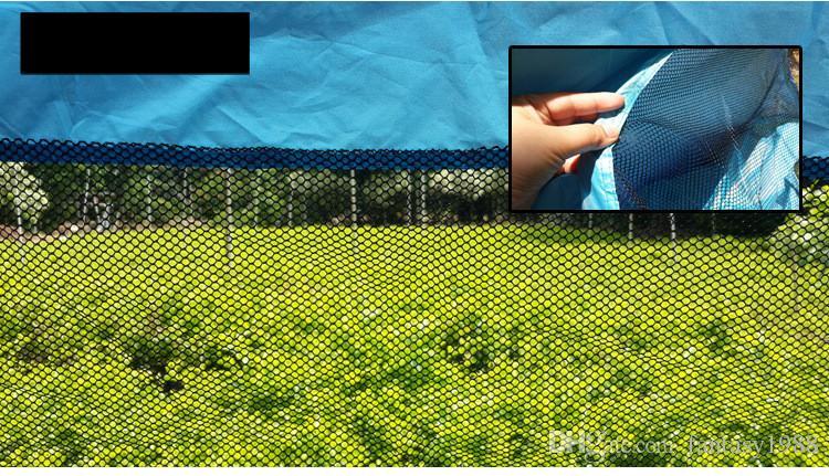 Быстрый Автоматический Открытие Туризм Отдых На Природе Палатки На Открытом Воздухе Приюты 50 + УФ-Защита Палатка для Пляжного Путешествия Газон Домой 10 ШТ. DHL / Fedex Доставка