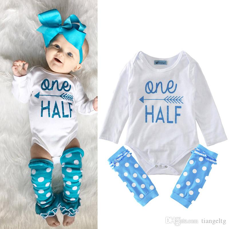 cd83d7ee30b 2019 New Kids Clothing Sets Blue Arrow Jumpsuits Winter Autumn Spring Long  Sleeve Baby Casual Suits Infant Rompers 0 24M From Tiangeltg