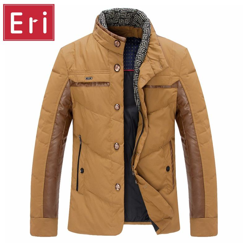 b1c336d32e9 2019 Wholesale 2017 New Mens Winter Jackets And Coat 90% White Duck Down  Duck Casual Slim Fit Down Jacket Men Short Paragraph Coats 3XL X429 From  Maluokui
