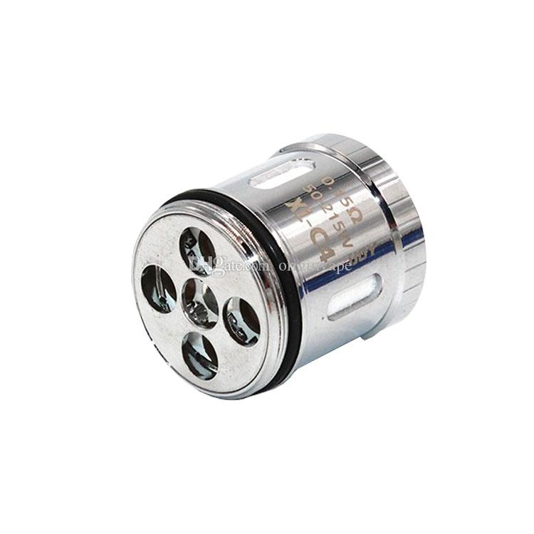 100% Authentic iJOY Limitless XL Tank C4 Replacement Coils Light Up Chip Coil For Limitless XL Tank Atomizer 0.15ohm DHL