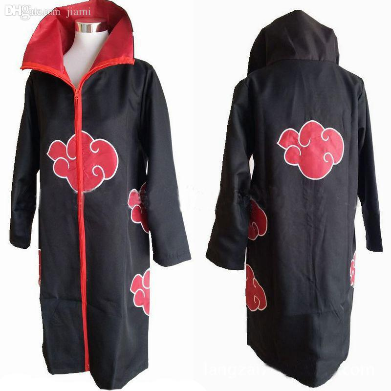 Wholesale Halloween Costumes Men Anime Naruto Costume Akatsuki ...